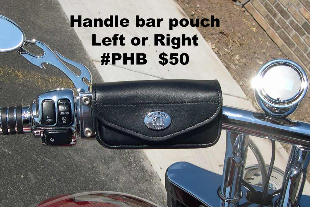 Motorcycle Handlebar Bags Leather