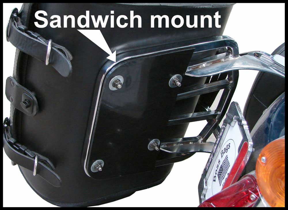 Motorcycle Saddlebags Trunk Bags And Sissy Bar Bags