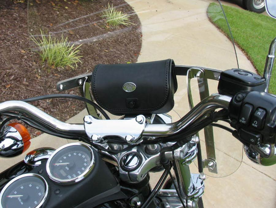 Motorcycle Accessories Windshield Pouches Handlebar